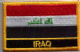 Iraq Embroidered Flag Patch, style 09.